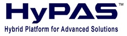 Kyocera's HyPAS Hybrid Platform for Advanced Solutions logo